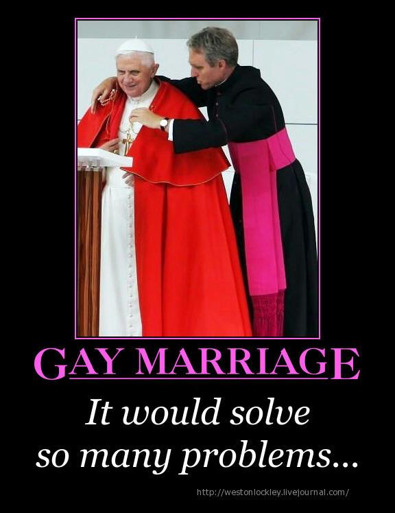 Joseph Ratzinger, Benedict XVI, Gaenswein
